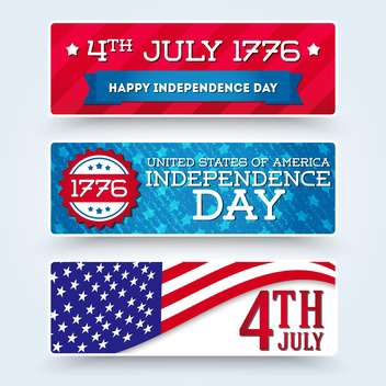 usa independence day symbols - vector #134510 gratis