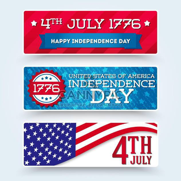 usa independence day symbols - Free vector #134510