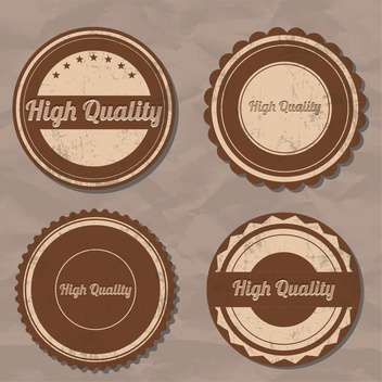 high quality label background - vector gratuit #134700