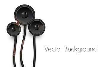 vector background with speakers - бесплатный vector #134840